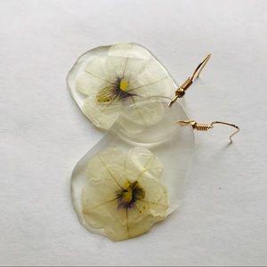 See-Through Flower Earrings